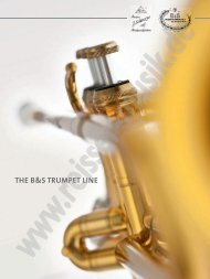 THE B&S TRUMPET LINE