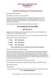 Herzliche Einladung zum Kutschenziehen am Freitag den 24. April ...