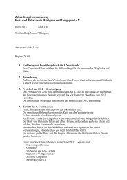 JHV Protokoll 2013.pdf - Reitverein Hänigsen - Willkommen