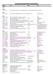 Veranstaltungskalender 2012/13 Stand 20.06 ... - der Stadt Ahlen
