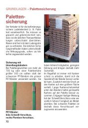 Paletten - sicherung - LasiPortal.de