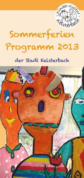 Sommerferien Programm 2013 - Kelsterbach