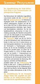 Sommerferien Programm 2013 - Kelsterbach - Seite 3
