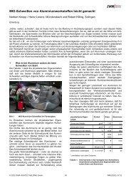 MIG-Schweißen von Aluminiumwerkstoffen leicht ... - SaxWeld GmbH