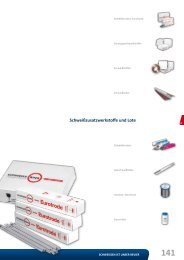 Schweißzusatzwerkstoffe und Lote - Reiz GmbH