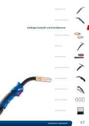 Lichtbogen-Schweiß- und Schneidbrenner - Reiz GmbH
