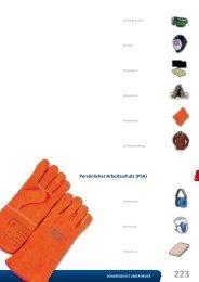 Persönlicher Arbeitsschutz (PSA) - Reiz GmbH