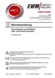 PICOMIG 180 DC tragbar - Reiz GmbH