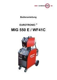 MIG 550 E / WF41C - Reiz GmbH