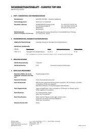 SICHERHEITSDATENBLATT – EUROTEC TOP 890 - Reiz GmbH