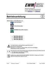 triton 260, 400, 500 dc - Reiz GmbH