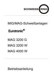 MAG 3200 G, 3200 W, 4000 W - Reiz GmbH