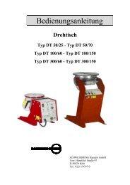 Typ DT 300/150 - Reiz GmbH