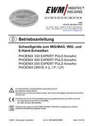 PHOENIX 330 EXPERT PULS forceArc - Reiz GmbH