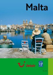 NUTTIGE REISINFO : Jetair informatieboekje over : Malta