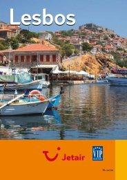 Jetair informatieboekje over : Lesbos - Reizen De Cauwer