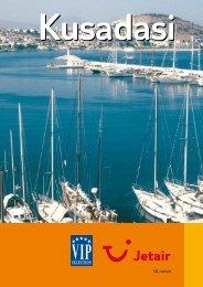 Jetair informatieboekje over : Kusadasi - Reizen De Cauwer