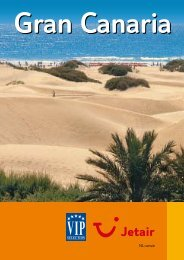 Jetair informatieboekje over : Gran Canaria - Reizen De Cauwer