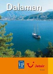 Jetair informatieboekje over : Dalaman - Reizen De Cauwer