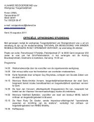 Uitnodiging Studiedag met programma