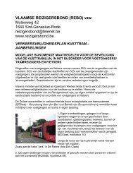 Verkeersveiligheidsplan kusttram - aanbevelingen - NL