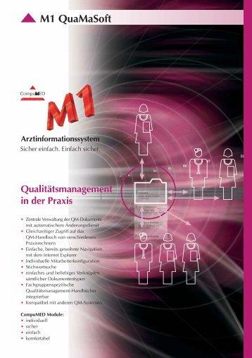 QuaMaSoft Modul RZ.fh10 - CompuMED M1