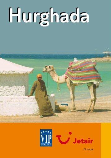 Jetair informatieboekje over : Hurghada - Reizen De Cauwer
