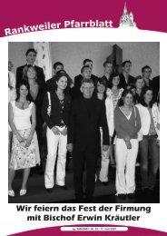 Wir feiern das Fest der Firmung mit Bischof Erwin Kr