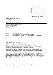Hygiene-Institut - Rekarma