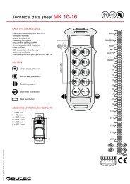 Technical data sheet MK 10-16 - Rekarma