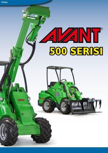 """Tamamen yenilenmiş """"AVANT 500"""" serisi Ergonomi - Rekarma"""