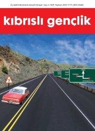Kıbrıslı Gençlik Dergisi - Reklam ajansı