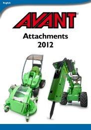 Avant 2012 Attachments Catalog - Rekarma