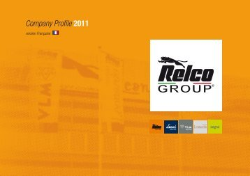 Company Profile 2011 - Relco Group