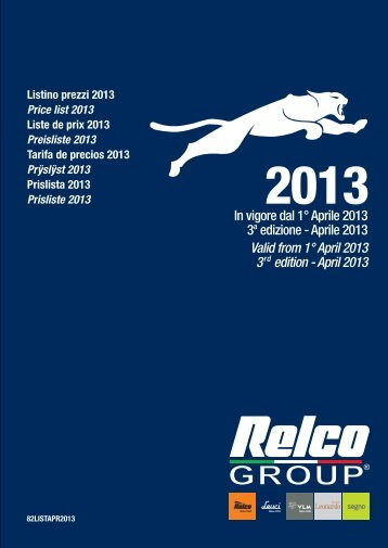April 2013 - Relco Group