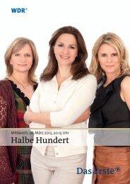 Halbe Hundert.indd - WDR.de