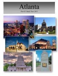 Atlanta Study Tour Packet - Department of Religious Studies