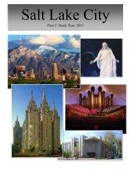 Part I: Study Tour 2011 - Department of Religious Studies