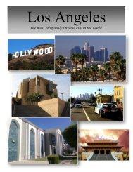 LA Study Tour Packet - Department of Religious Studies