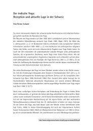 8 Seiten, PDF, 150 KB - Religionen in der Schweiz