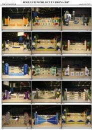 ROLEX FEI WORLD CUP VERONA 2007 - Relinchando