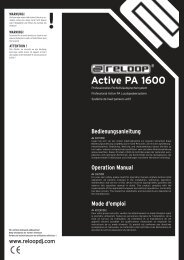 Active PA 1600 - Reloop