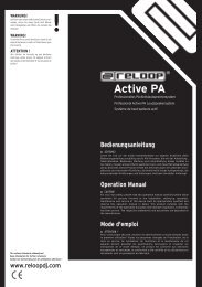 Active PA - Reloop