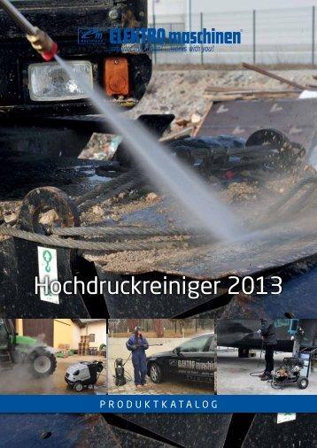 Hochdruckreiniger 2013 - REM Maschinen