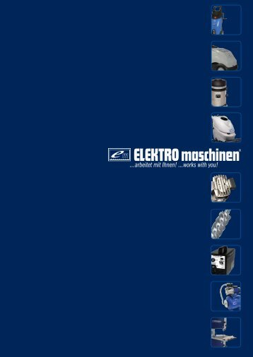 General catalogue Elektro Maschinen Poland (pdf) - REM Maschinen