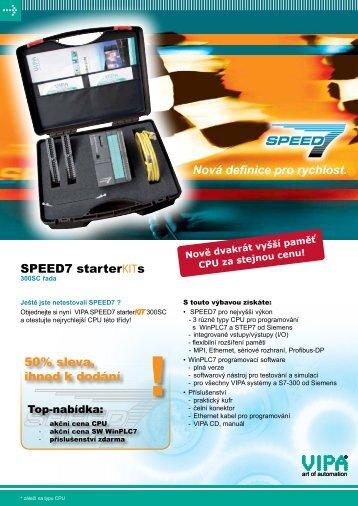 Objednávkový formulář SPEED7 Starter Kit - REM-Technik sro