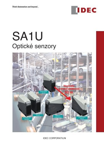 Katalog optických senzorů SA1U - REM-Technik sro