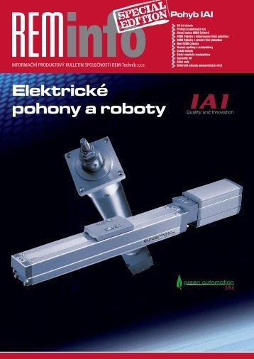 Přehled produktů IAI - REM-Technik sro
