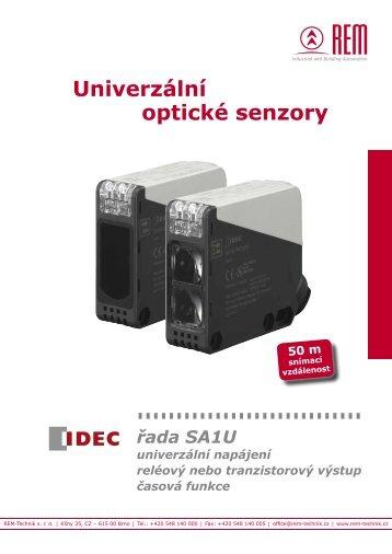 Ceník optických senzorů SA1U - REM-Technik sro