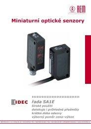 Ceník optických senzorů SA1E - REM-Technik sro
